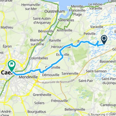 Dayton's D-Day Route June 6-8, 1944