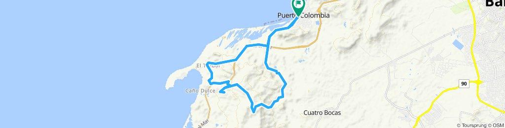 PTO. COLOMBIA - C. CUPINO - PTO. VELERO - CAÑO DULCE- EL MORRO- SANTUARIO - JUARUCO - BAJO OSTION - C. CUPINO - PTO. COLOMBIA