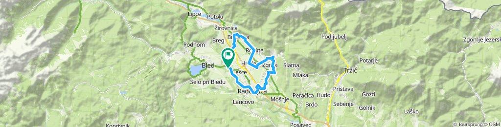 Smart_pod Stolom - kolesarska pot