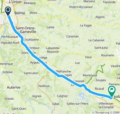 Canal du Midi: Toulouse - Castelnaudary