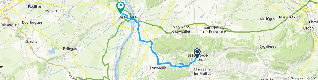 Itinéraire reposant en Beaucaire