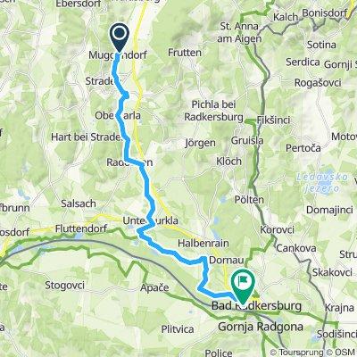 Überschallgeschwindigkeitsfahrt in Bad Radkersburg