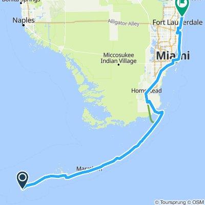 Key West to L.B.T.S.