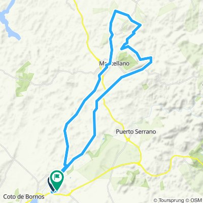 Villamartín - Circular Sierra Montellano