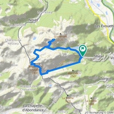 🇨🇭 CH19 D5 - Les Cornettes du Bise, Les Jumelles +2215m (23km)