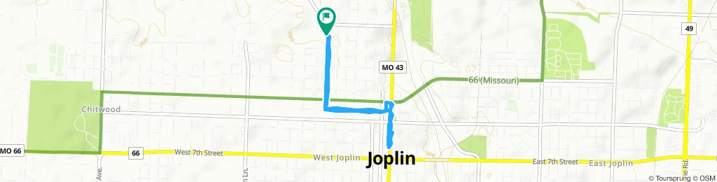 Rode to 3rd Thursday Downtown Joplin!!!