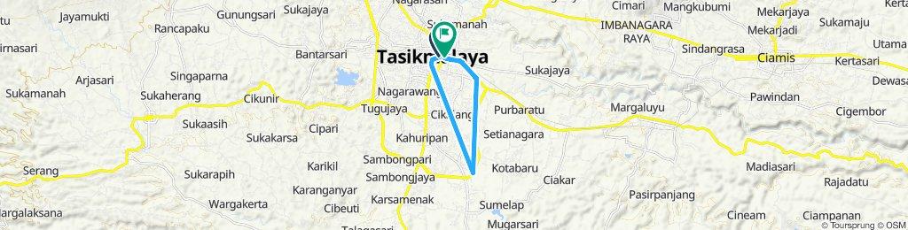 track sepeda hari ORI Tasikmalaya