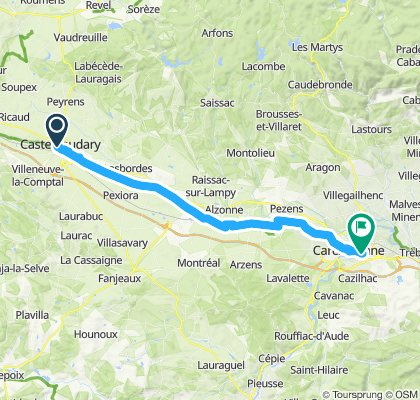 Canal du Midi: Castelnaudary - Carcassonne