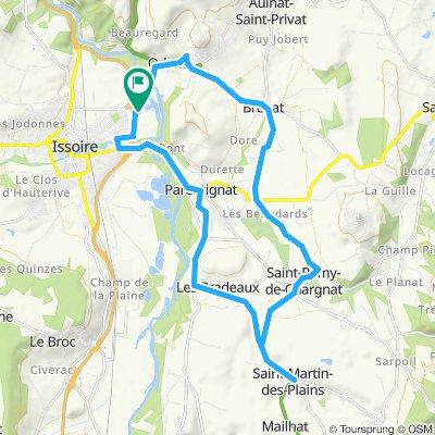 2019-21 Issoire Circle to St-Martin-des-Plains