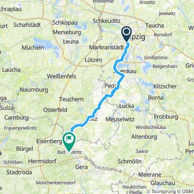 Von Leipzig nach Bad Köstritz