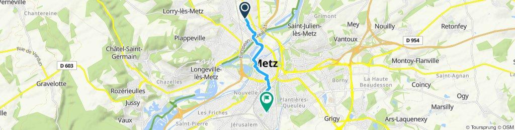 Visite rapide en Metz