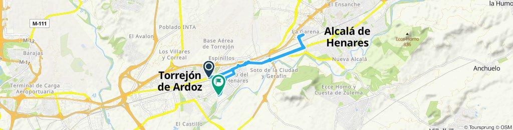 Ruta moderada en Torrejón de Ardoz