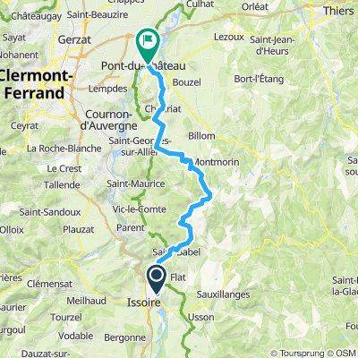2019-22 Issoire to Pont-du-Château