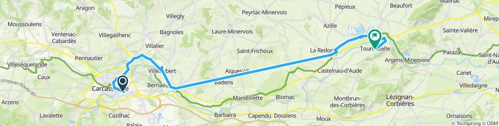 Canal du Midi: Carcassonne - Tourouzelle