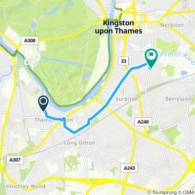 Thames Ditton Cycling