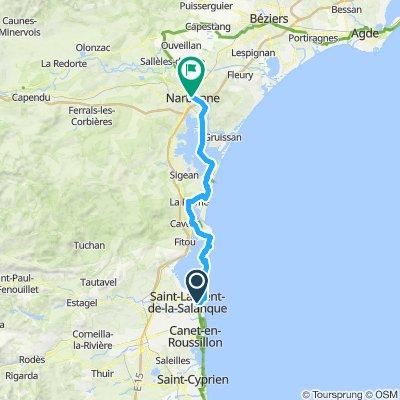 St Laurent à Narbonne (test bikemap)