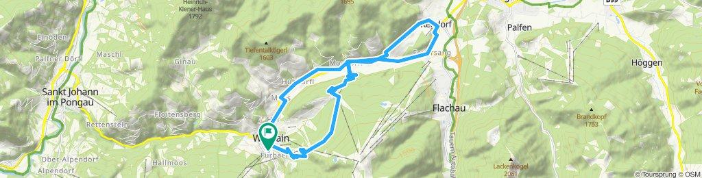 Wagrain-Reitdorf-Wagrain über Franzlalm