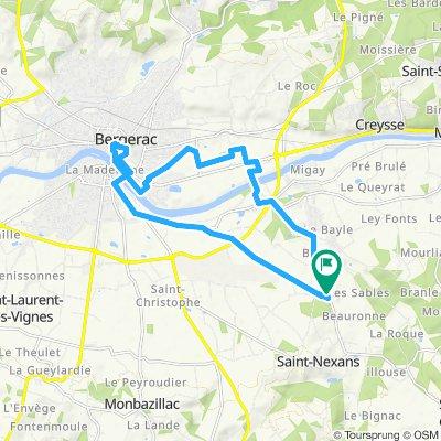 Itinéraire confortable en Saint-Nexans