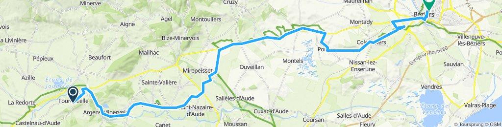Canal du Midi: Tourouzelle - Beziers