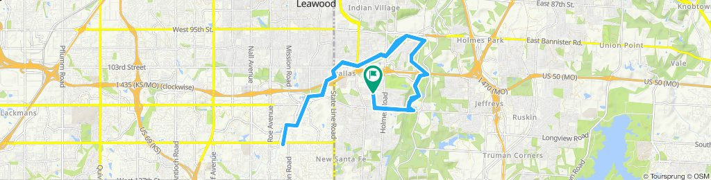 Easy ride in Kansas City