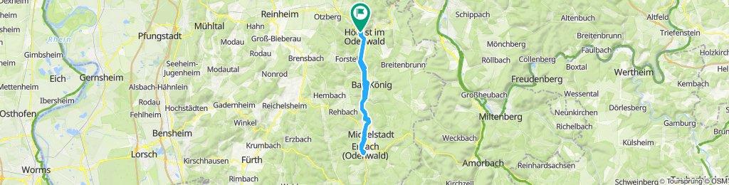 Mal eben nach Erbach