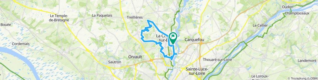 rando la chapelle 2019 35kms