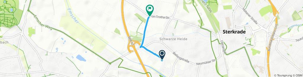 Entspannende Route in Oberhausen