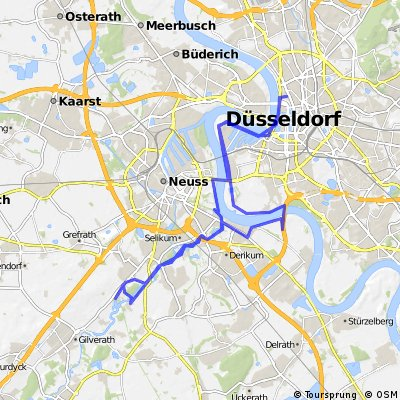 Dusseldorf Map on