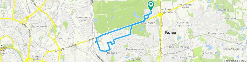 Осенние сухо-влажные велоездки по ВАО (Перово) 21 - 10 - 2019