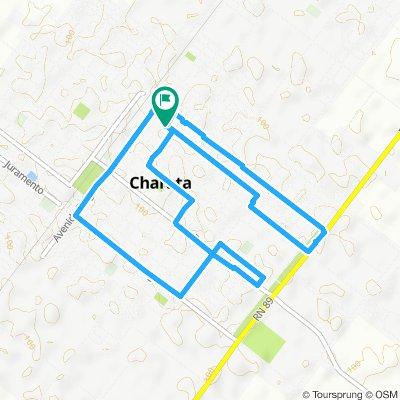 Paseo rápido en Chacabuco