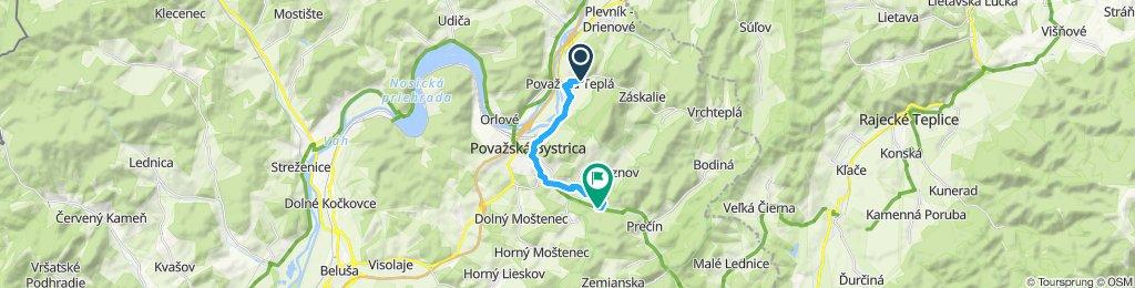 Pomalá jazda Považská Bystrica