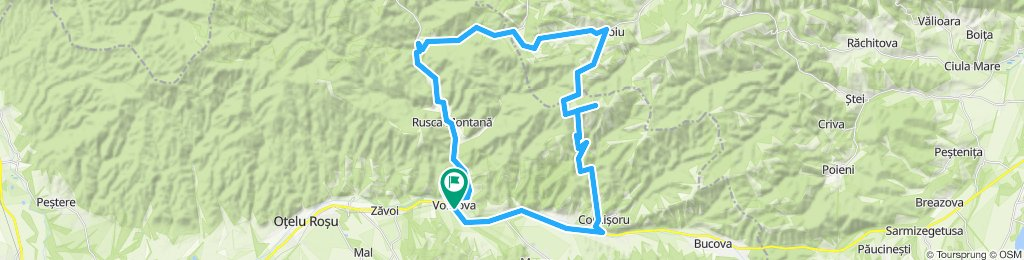 Voislova - Rusca Montana - Negoiu - Preveciori