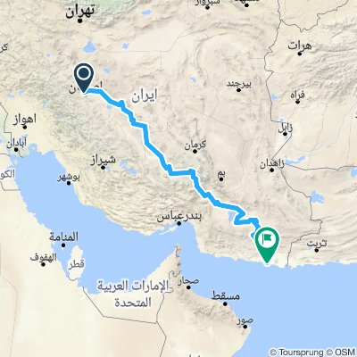 isfahan  chabahar
