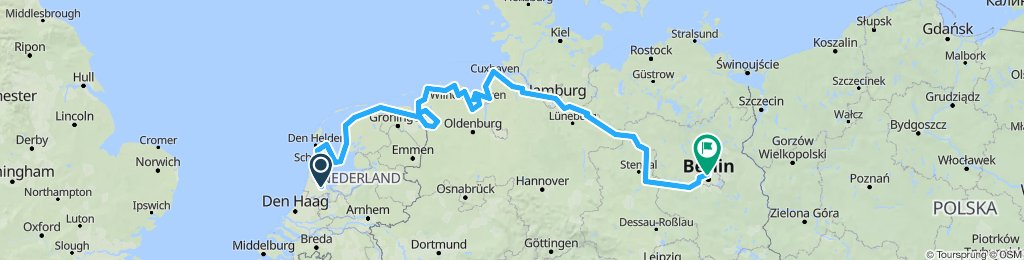 2020 Amsterdam-Hamburg-Potsdam-Berlin