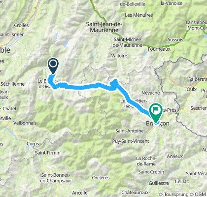 Alp D'huez-Loutaret-Galibier-Briancon
