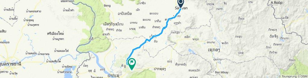 Salavan à Houa He (en 2 jours)
