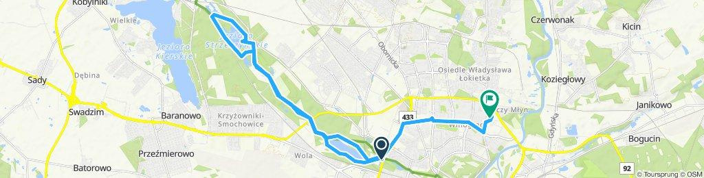 Powolna trasa w Poznań