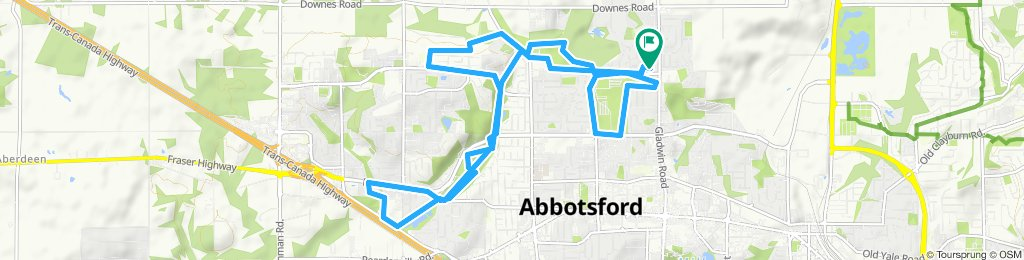 Slow ride in Abbotsford
