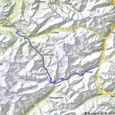 02 Day2 Meiringen to Hospental