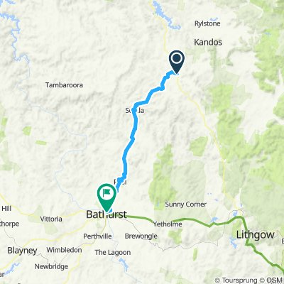 Ilford to Bathurst