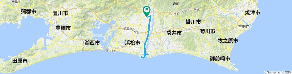 浜北-天竜川河口