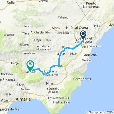 Sunday 31 Cuevas - Tabernas