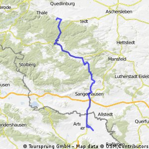 Bad Suderode - Artern (day 3)