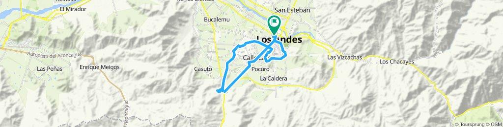 Ruta favorita Los Andes