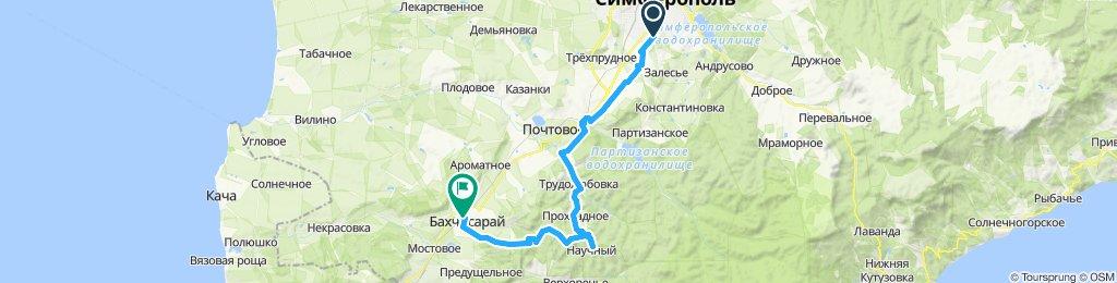 Симферополь - Научное - Бахчисарай