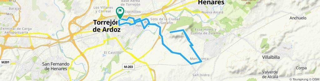 Paseo lento en Torrejón de Ardoz hasta el mirador el viso