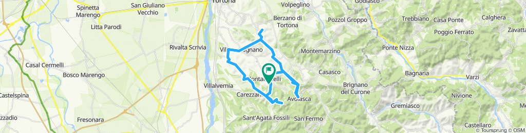 Periplo Valle Ossona. Awareness e-bike