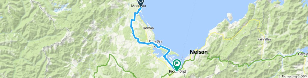 Motueka to richmond