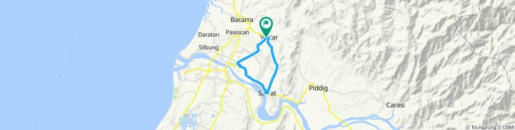 same route