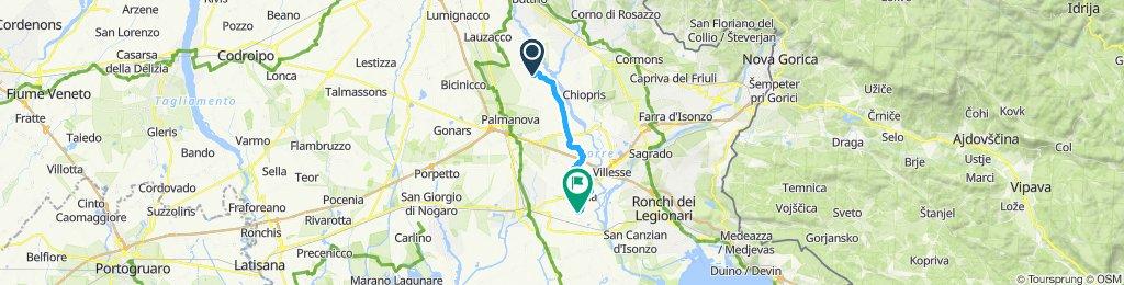 Schnelle Tour in Trivignano Udinesegrado